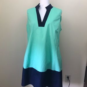 STS Sail to Sable color block tunic dress XL NWT